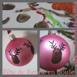 Peindre Boule de Noël - Tuto DIY Activité Enfant - - Que Cache Ma Boite à Belette ? #activitenoelenfant