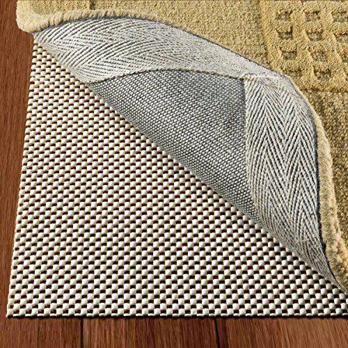 NINJA BRAND Non-Slip Area Rug Pad for Hard Floors 5 x 8 Maximum Protection #1 Grip