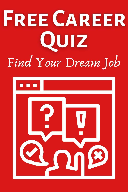 Free Career Quiz in 2020 Career quiz, Future career quiz