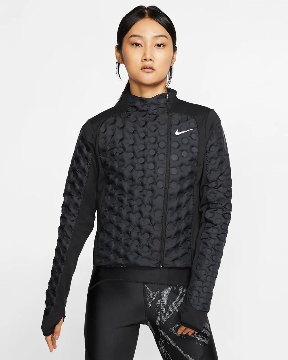 Menstruación escucha Visión general  Nike AeroLoft Women's Running Jacket ... | Womens running jacket, Running  jacket, Running clothes