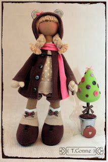 Mimin Dolls: Doll pattern and tutorial - padrões diferentes -02