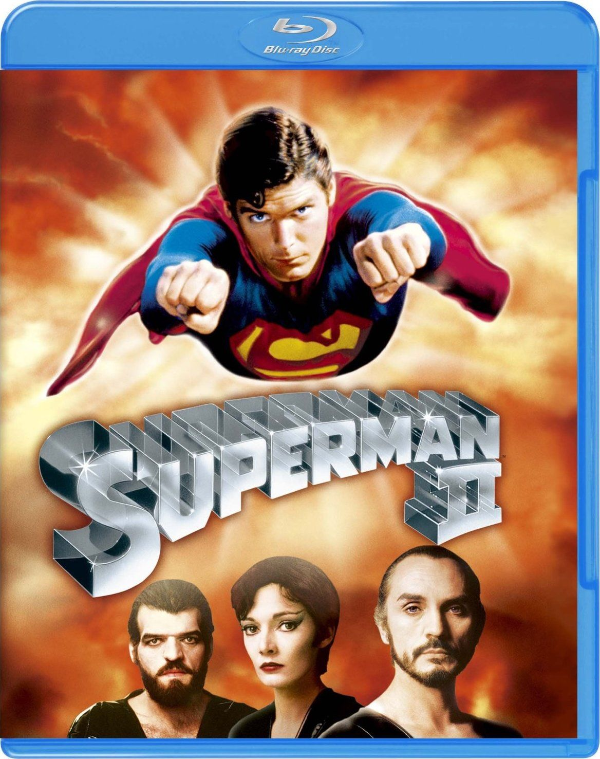 Superman II Blu-ray (United Kingdom) | BluRay Cover