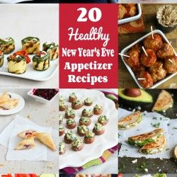 20 Healthy New Year's Eve Appetizer Recipes