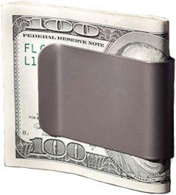 The COMMANDER Titanium Money Clip by Superior Titanium