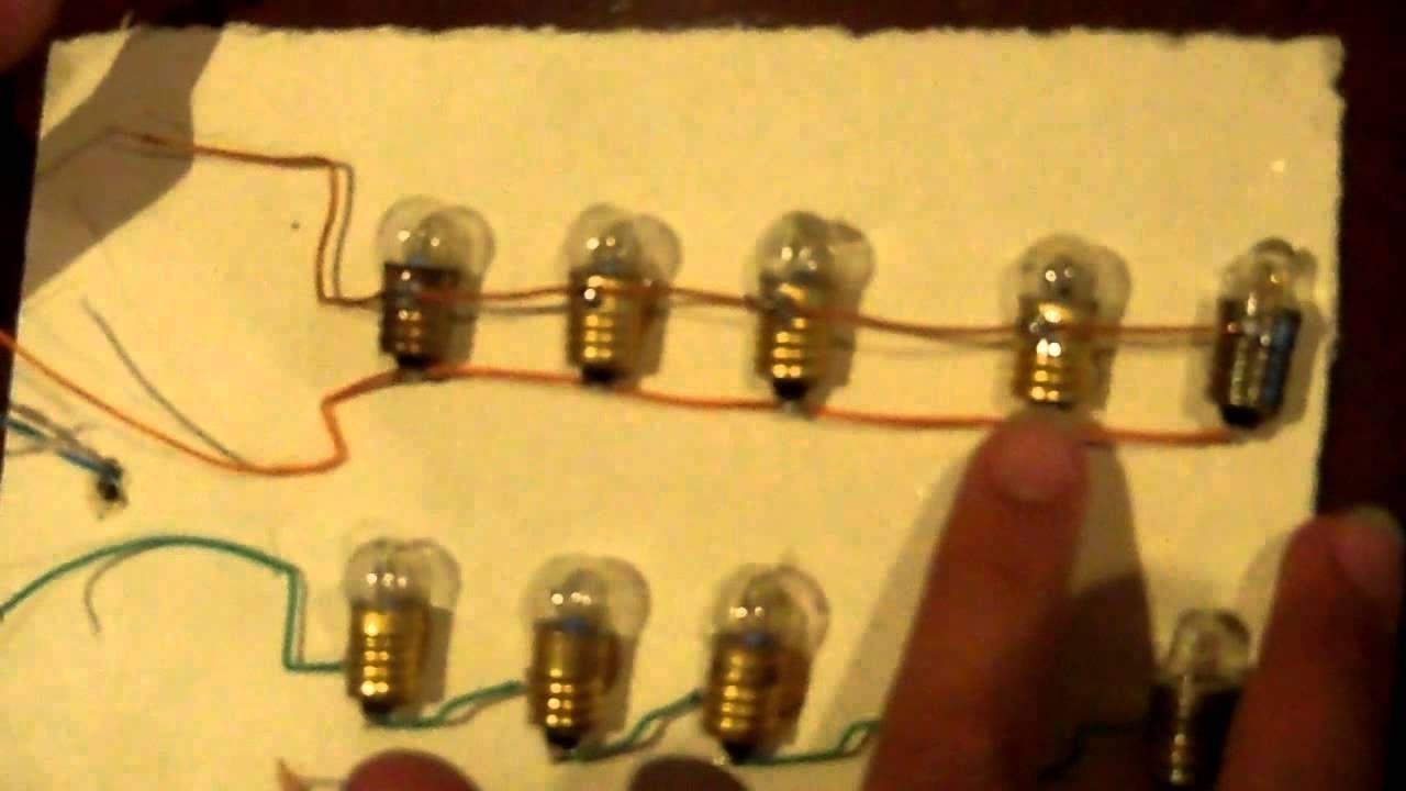 Circuito En Serie : Como es un circuito en serie y paralelo facil hacer cómo se