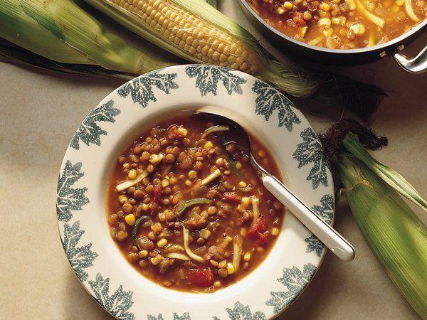 Lentil Chili, Recipes, Lentil