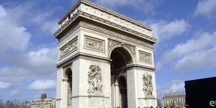 Arc de Triomphe, Paris, Île-de-France, France, Europe