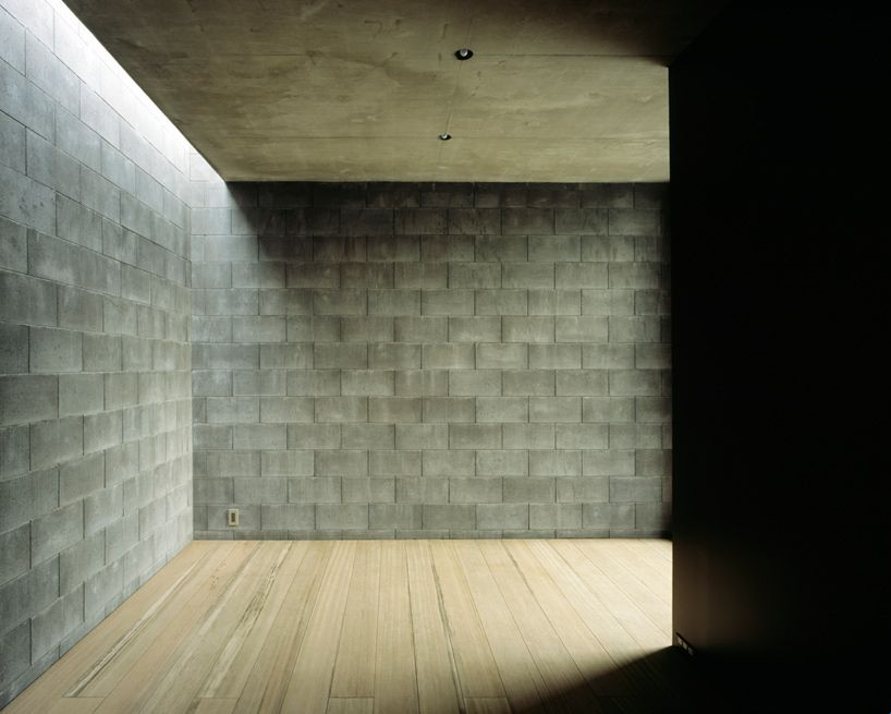 A Composition Of Three Monolithic Volumes Constructed Out Of More Than 7000 Concrete  Blocks, The