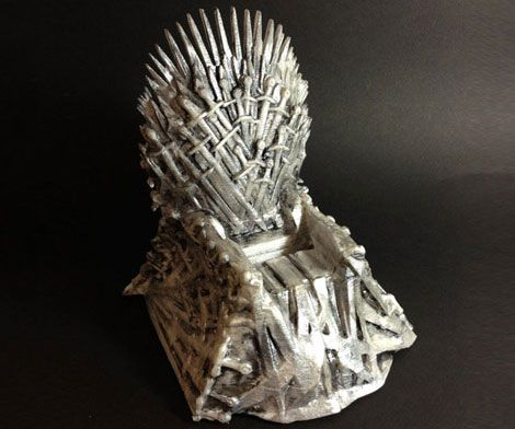 Iron Throne Chair Backboard Foam Kids Phone Docking Station Geek Pinterest Blood Will Be Spilled When Your Iphone Or Android Smart Sit Upon The This Incredibly Detailed Resembles