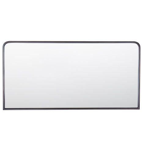 Metal Framed Mirror Horizontal Oil Rubbed Bronze E1098 Dream