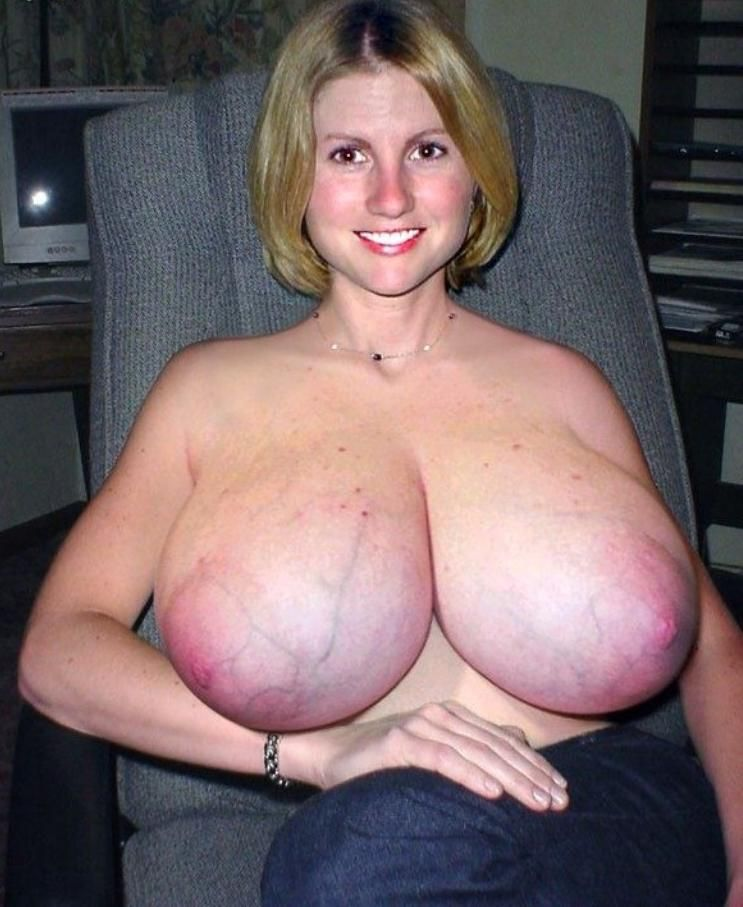 Huge Natural Floppy Tits