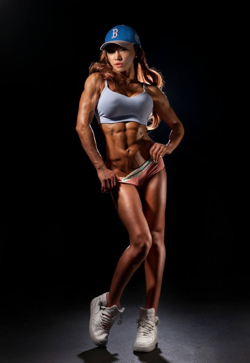 Pin by Fate Nano on Chu-mi Kim | Pinterest | Muscle power, Fitness ...