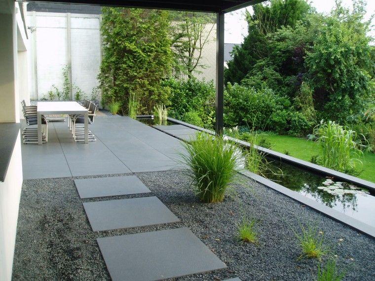 Wasserbecken Garten- und Landschaftsbau Bauersfeld Garten - reihenhausgarten vorher nachher