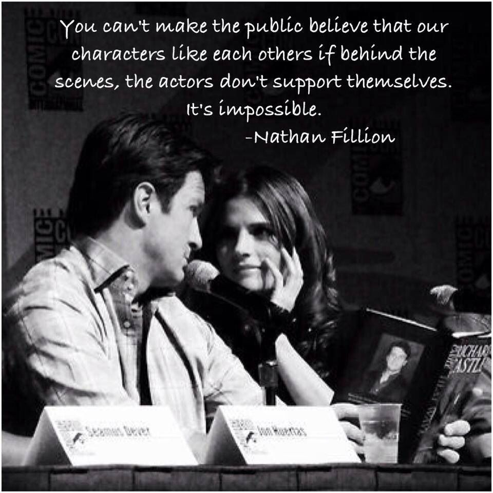 Show scenes page - Show How Much Of A Beckett Fan You Are By Blogging About Castle And