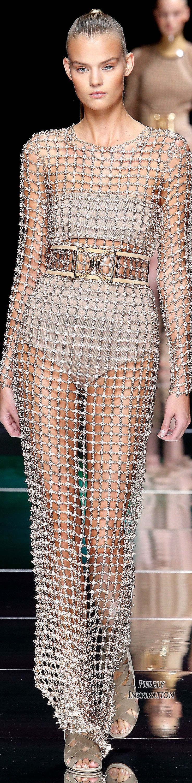 Balmain SS2016 Women's Fashion RTW | Purely Inspiration #runway
