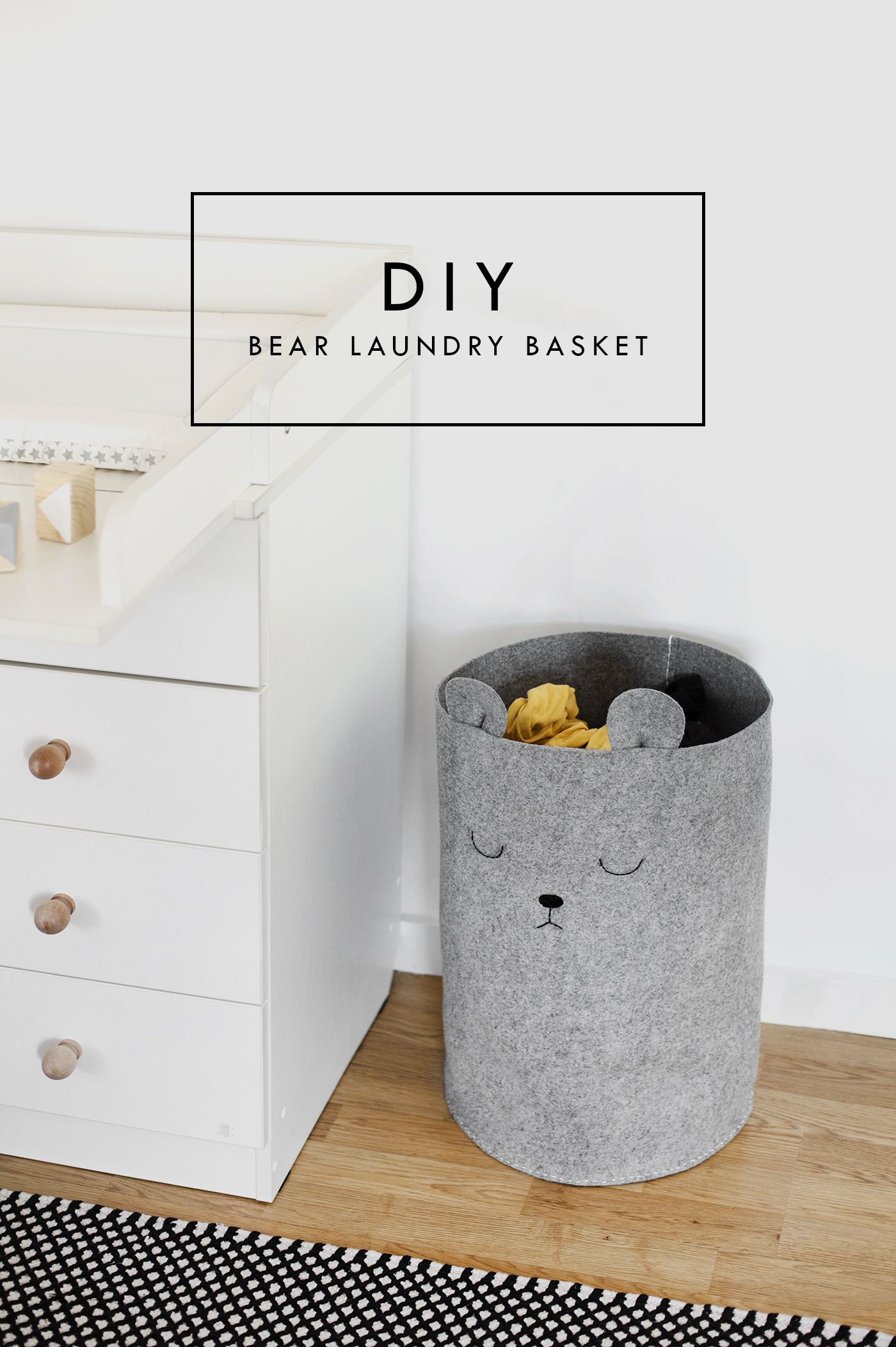 Photo of Pretty, Dirty Laundry: A Nursery DIY | The Lovely Drawer