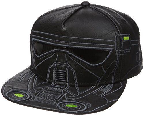 c798ca4098d50 Bioworld Men s Star Wars Rogue Death Trooper PU Snapback