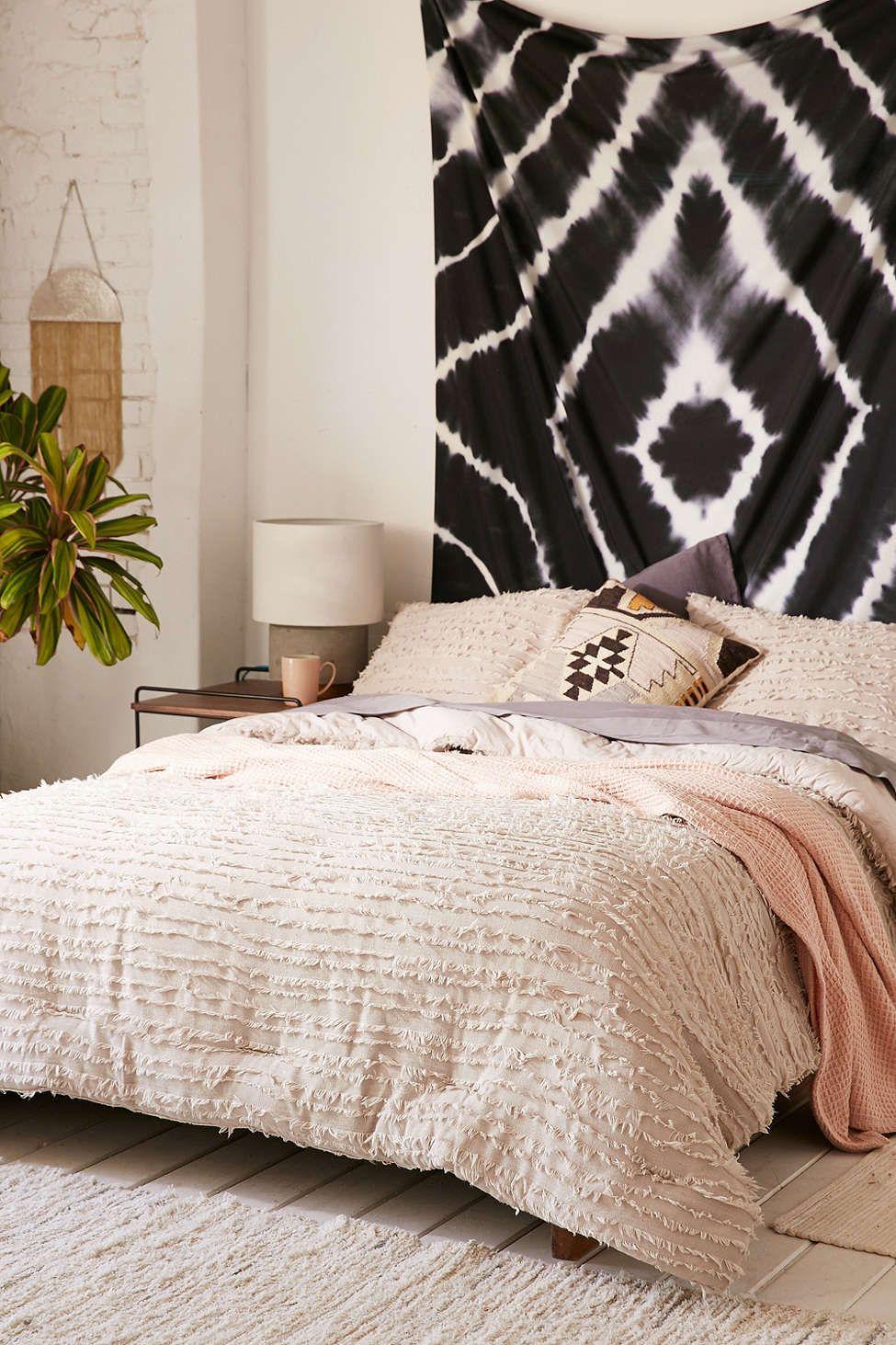 Eyelash Fringe Comforter Comforters, Tan comforter, Dorm