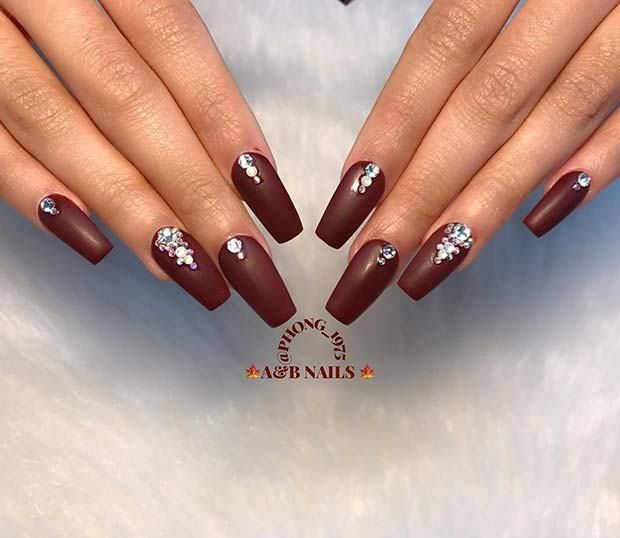 Best 30 trendy Fall Nail Design Ideas 2018 | Gel nails french ...