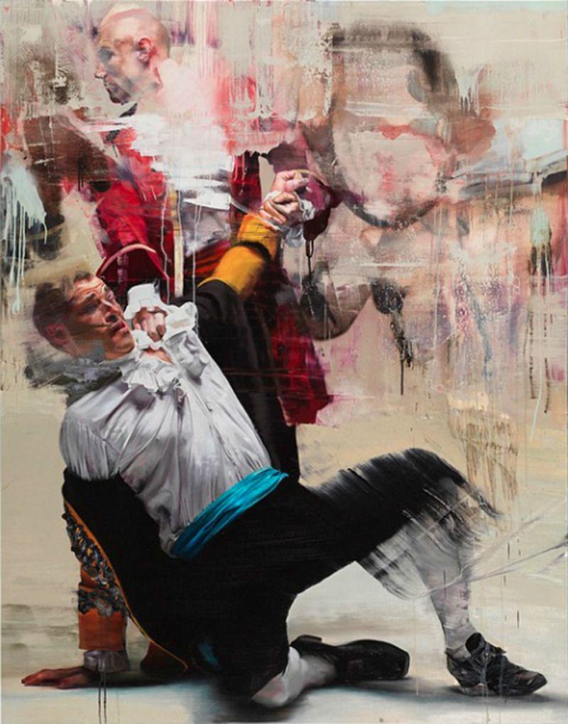 Art and Design Blog   Art Blog   Apartial - ART: Harrington's Incredible New Painting