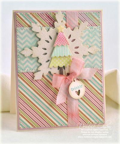 DIYPastel Christmas card Card Ideas Pinterest Cards, Pastels