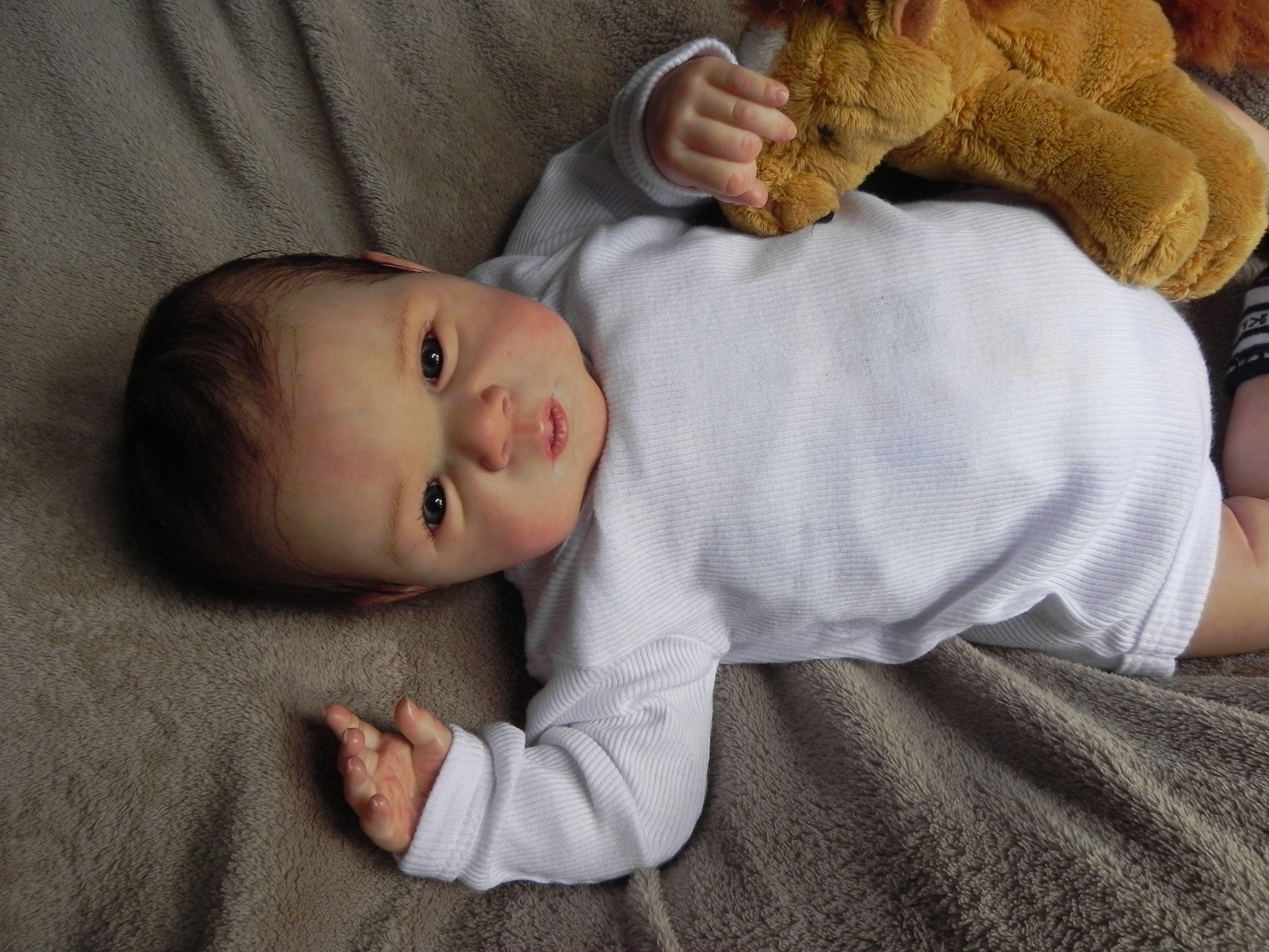 7c698bd3d Reborn doll kit Gabriel by Michelle Fagan