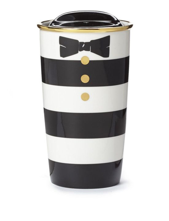 How cute is this striped Alice + Olivia and Starbucks cup!!?