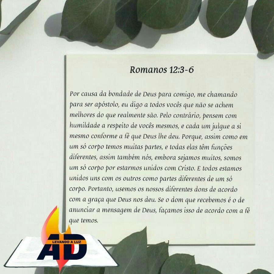 Pense Com Humildade A Respeito De Si Mesmo Palavra De Deus