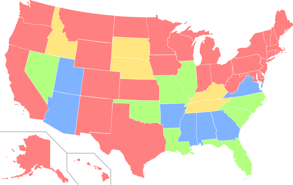 Equal Rights Amendment Map Equal Rights Amendment Wikipedia