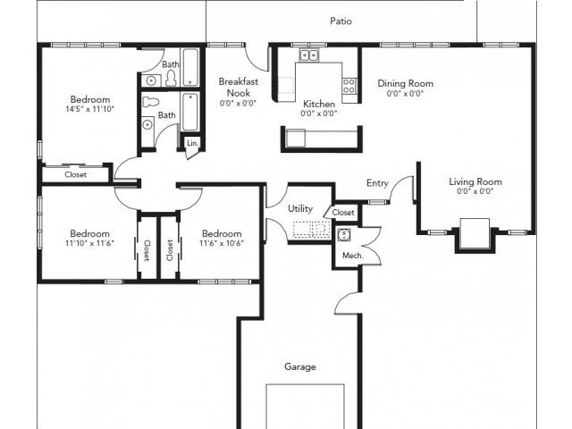 Nas whidbey island maylor point neighborhood 3 bedroom for Whidbey house plan