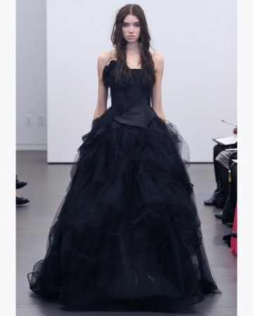 Vera Wang | Black | Pinterest | Ball gowns, Gowns and Wedding
