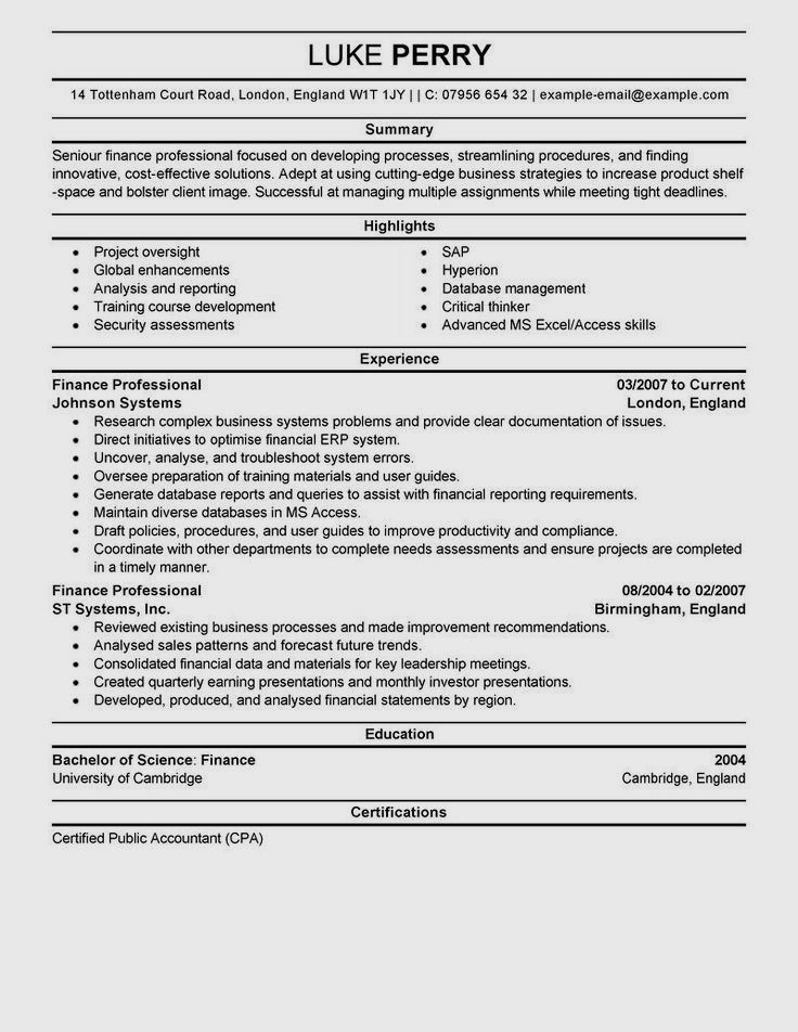 Top 12 Tips for Writing a Great Resume Job resume