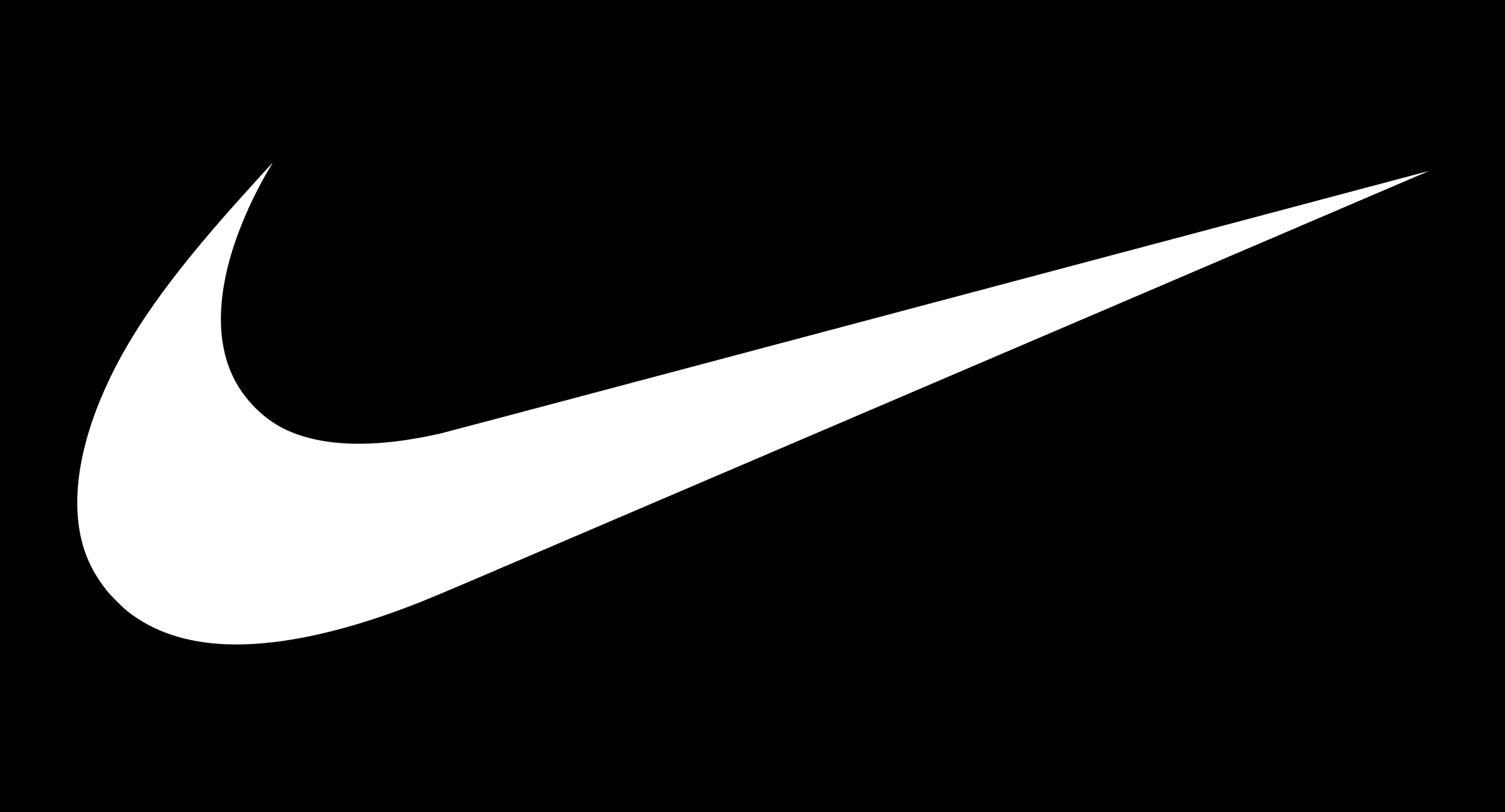 al revés doblado ira  Nike Logo White | Nike logo, Nike symbol, Nike swoosh logo