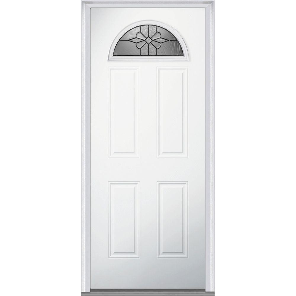 Mmi Door 32 In X 80 In Dahlia Left Hand Inswing 14 Lite