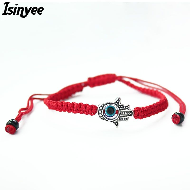 Evil Eye Lucky Charm Bracelet Braided Thread for Women Protection