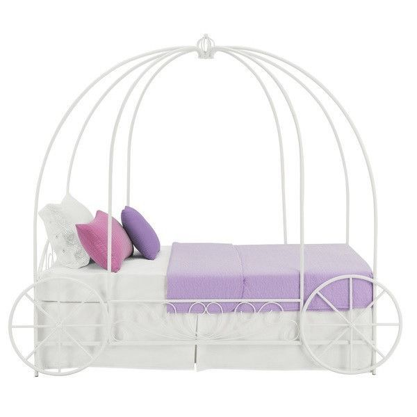 Twin Princess Carriage Canopy Bed Carriage Bed Twin Canopy Bed
