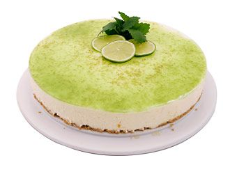 Lime cheese cake - favorite cake ever<3