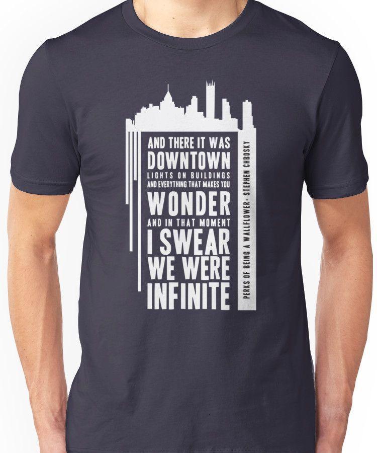 Infinite - White Unisex T-Shirt
