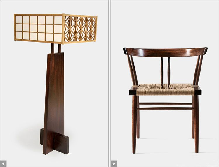 George Nakashima Is Considered The Most Successful Japanese American  Furniture Designer.
