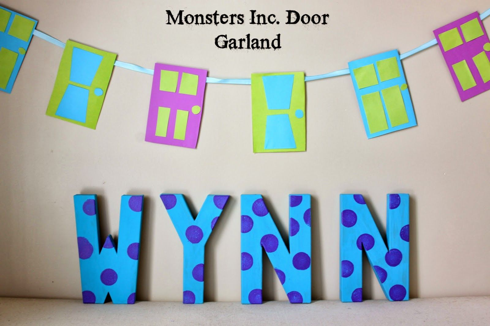 diy monsters inc baby shower decor ideas | Our Pinteresting Family ...