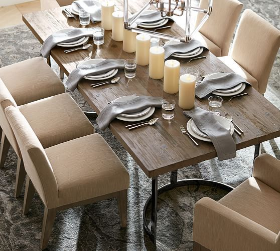 Do I like this?? - Durham Reclaimed Wood Fixed Dining Table ...