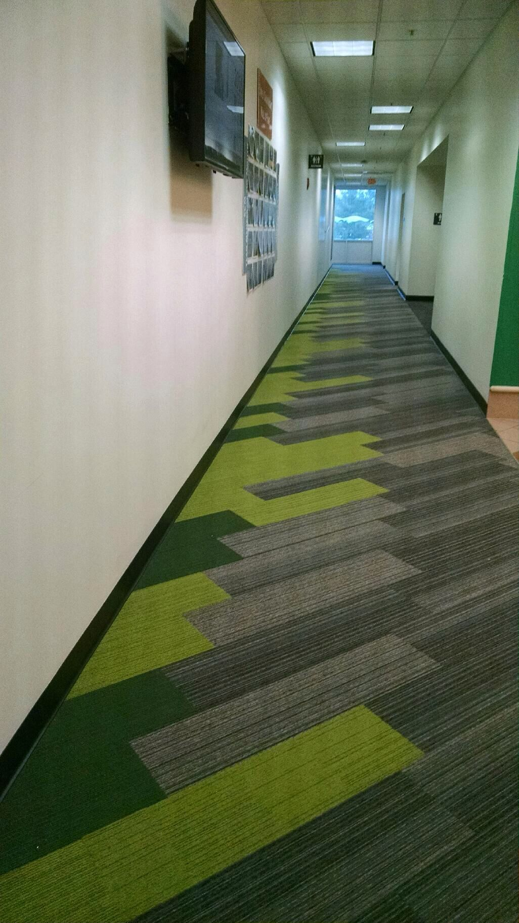 Interface Corridor Shiver Me Timbers Hickory With On Line Lime