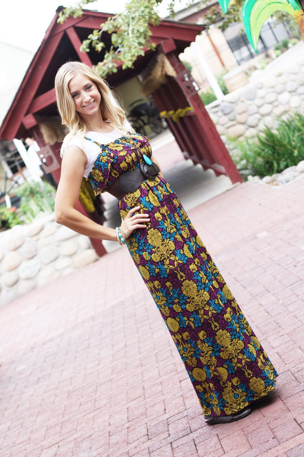 Sew Much Ado The SoHo Maxi Dress Tutorial Crafty Pinterest