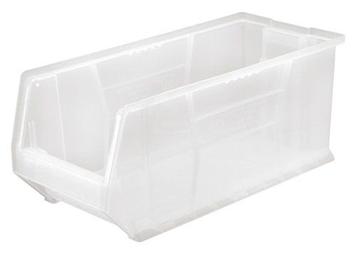 Quantum Qus953 Plastic Storage Stacking Hulk Container 24inch By 11inch By 10inch Clear Case Kitchen Storage Organization Plastic Storage Solar Panels For Home