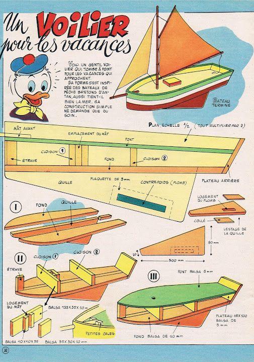 Concours Fabriquer Son Voilier De Bassin Page 2 Voilier Voilier Bois Artisanat De Bateau