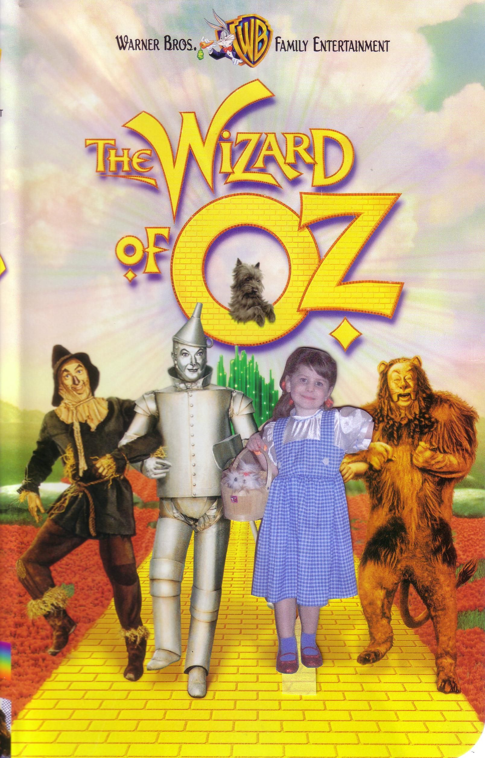 Pasted daughter's face on image for her wizard of oz