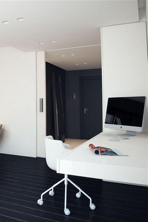 Oficina en casa más diseño más inspiración #55   Oficina en casa ...