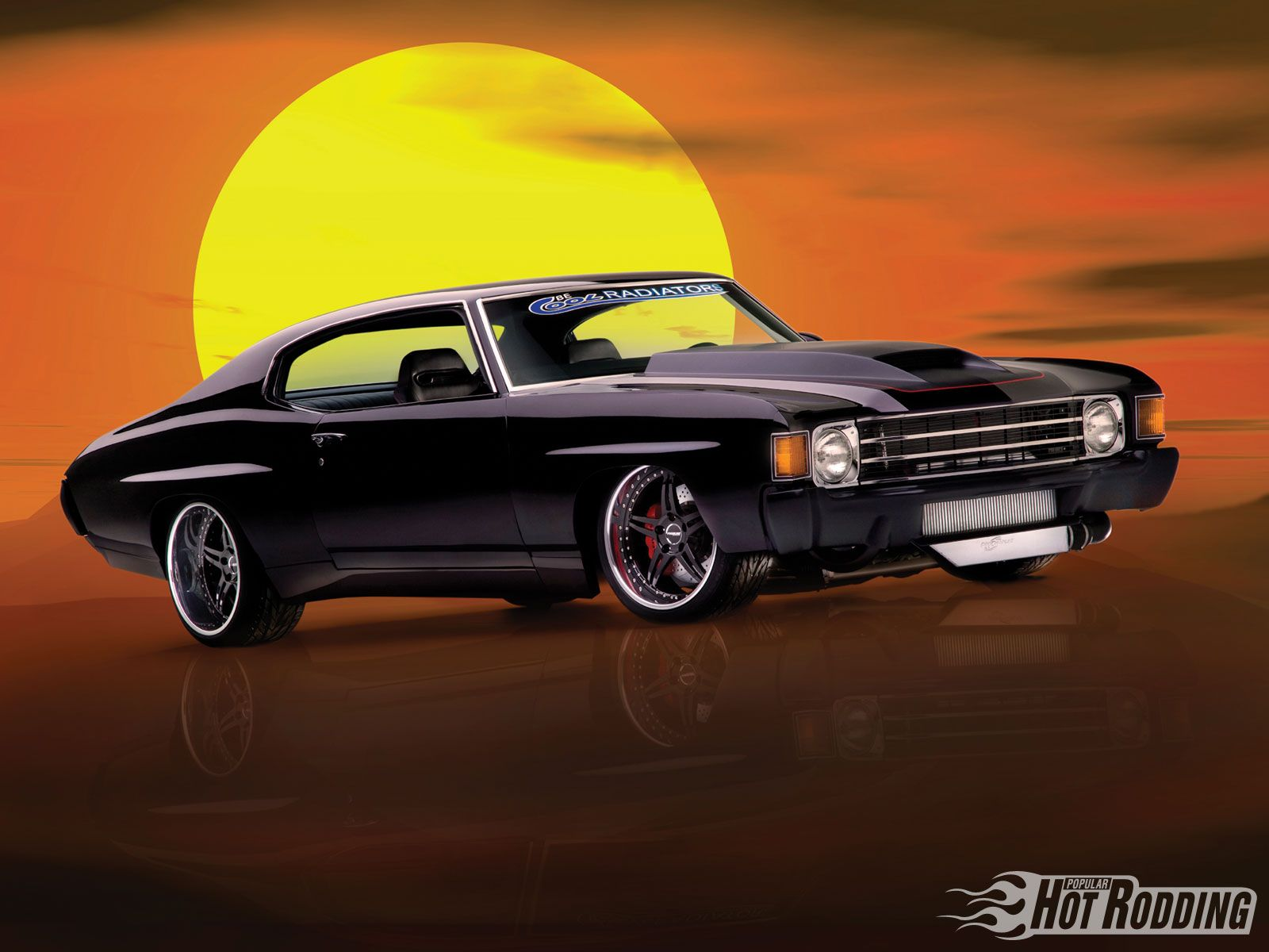 Hot Rod Muscle Car 1972 Chevy Chevelle Muscle Cars Hot Rod