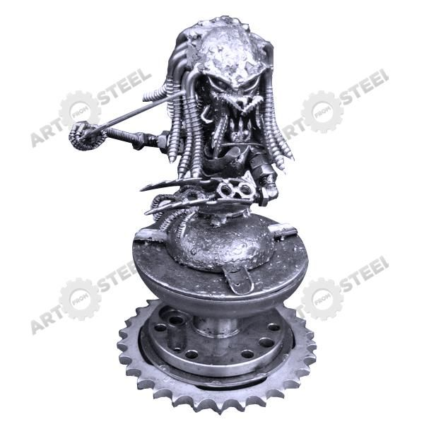 capricious steampunk bookends. Predator We are proud of how detailed the head is with this
