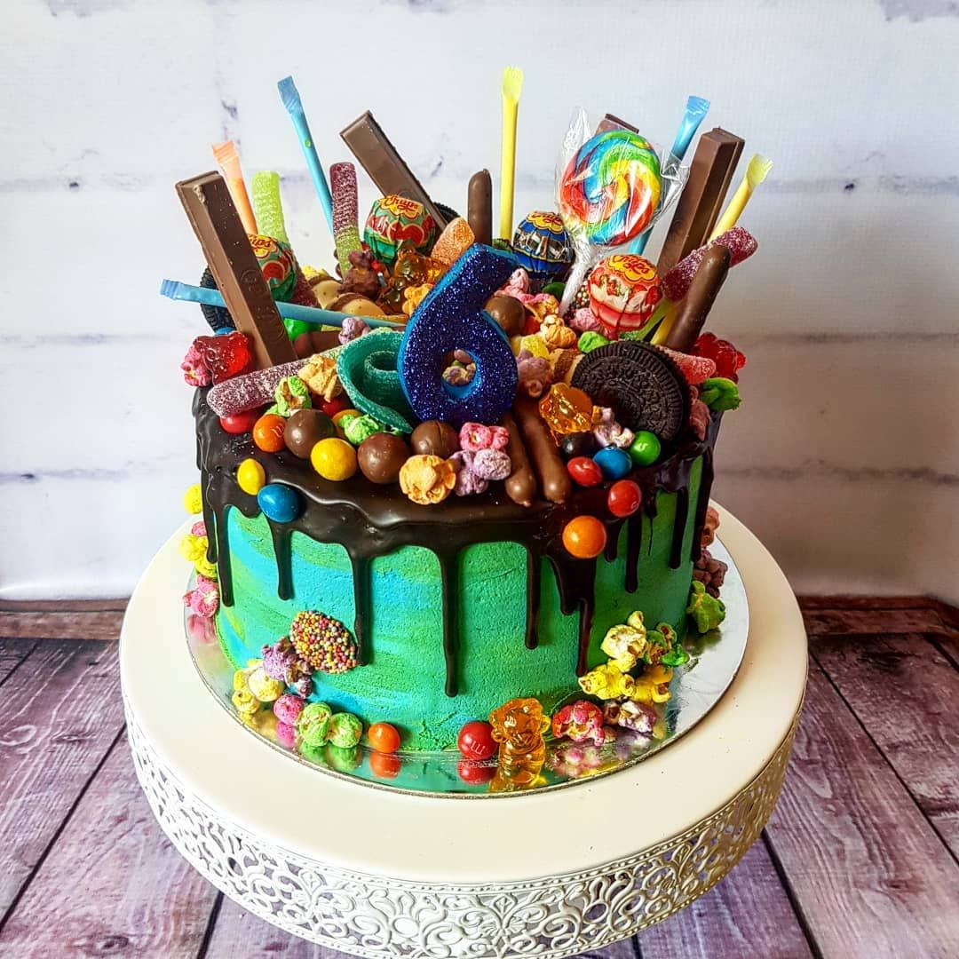 Loaded lolly cake!! This was custom made for my client and ...